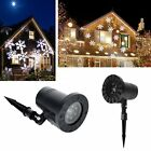 Outdoor Christmas Light Laser Projector Moving Light Snowflake Garden Party Lamp