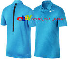 NIKE TIGER WOODS TW DRY BLUR STRIPE GOLF POLO SHIRT. 854209-486