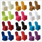 White Spandex Stretch Chair Seat Cover Furniture Wedding Party Dining Decor New