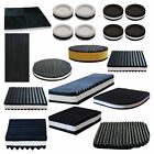 Rubber Anti Vibration Mat / Pad Noise & Sound Deadening Anti Vibrate HOUSEHOLD