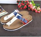 New Mens Casual Summer Flip Flop Holiday Slip On Beach To Post Cork Sandals UK