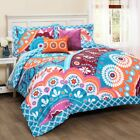 Maya 5 Piece Comforter Set by Lush Decor