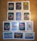 ALL Star SIGNS horoscope ZODIAC HandMade crafted BATIK ART cards wax resist GIFT