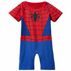 Baby Boy Superhero Costume Romper Newborn Halloween Outfits Infant Playsuit
