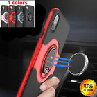 Внешний вид - For iPhone X 6 6S 7 8 Plus Ring Shockproof Protective Rugged TPU Back Case Cover