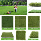Artificial Grass Astro Turf Fake Lawn Realistic Natural Green Garden - Any Size