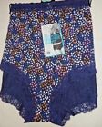 Brand New Ex M&S Cotton Rich Comfort Lace High Rise Shorts Sizes 12-14-18