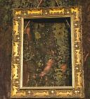 WIDE Ornate MUSE Shabby Chic Antique Picture Photo Frame Gold Fitted With Glass