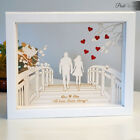Personalised Gift Frame for Her Him Wedding Anniversary Engagement Present
