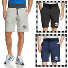 adidas Originals Sports Essential Men's Fleece Shorts Black Grey Navy