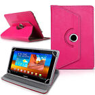 """For 9.7"""" 10"""" 10.1"""" Android Tablet PC New 360 Universal Case Folio Leather Cover"""