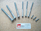 COACH SCREWS BOLTS A2 STAINLESS STEEL HEX HEAD ST/ST TIMBER SCREW M6 M8 M10 M12