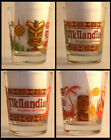 Best Red Old Fashioned Glasses - Set of 4 Tikilandia Glassware Tiki Bar Cocktail Review