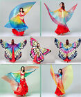 Внешний вид - New Transparent Shiny Colorful Butterfly Belly Dance Angel Isis Wings