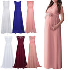 Pregnant Women Lace Long Maxi Dress Maternity Formal Party Evening Photo Dresses