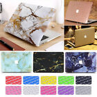 """2in1 Silk Leather Marble Matte Hard Case for MacBook Pro 15"""" A1286 (have CD-Rom)"""