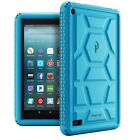 Case For Amazon Fire 7 2017 Poetic【Turtle】Sound-Amplification Silicone Case