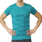 adidas Ultimate Football Training T Shirt UFB Men's Running Gym Climalite Green