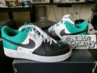 Nike Air Force One 1 07 LV8 Low Neptune Green Mini Black White 823511 002