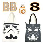 STAR WARS BB-8 Grocery Tote Reusable Shopping Bag Zipper Tote Bag School Bag $14.53 CAD on eBay