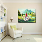 Jesus Shepherd Christian Stretched Canvas Print Framed Wall Home Office Decor