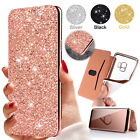 Luxury Bling Diamonds Flip Leather Wallet Case Cover For Samsung Galaxy S9 Plus