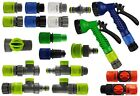 Garden Expanding/x type hose connectors+fittings,click-lock,hozelock compatible