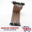 M-F Dupont Jumper Cable Breadboard Wire Ribbon 20cm 2.54mm 40 Pin Connector D67