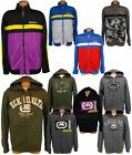 ECKO UNLTD MENS HOODIE TRACK JACKET FULL ZIP UNLIMITED SKATE TRICOT CAMO USA NWT