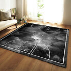 Flannel Memory Foam Kid Basketball Game Crawling Mat Carpet Living Room Area Rug