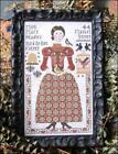 Miss Mary Hadley Folk Art Primitive Kathy Barrick Cross Stitch Pattern