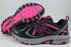 NEW BALANCE 410 WIDE BLACK/PINK/GRAY/SILVER WT410LB5 TRAIL RUNNING HIKING WOMEN