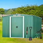 small garden shed - Steel Outdoor Garden Storage Shed All Weather Tool Utility Backyard Lawn NEW EK