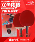 Nice deal basic upgrade level Double Fish Ping Pong Paddle table tennis racket