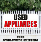 Banner Vinyl Used Appliances Advertising Sign Flag Many Sizes Dish Washer Dryer