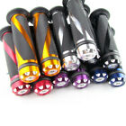 "Custom 7/8"" Motorcycle Hand Grips Rubber Handle Bar End Universal Scooter Bikes $9.96 USD on eBay"