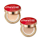 [THE FACE SHOP] Oil Control Water Cushion (Coca Cola Edition) - 15g $21.66  on eBay