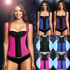 Ladies Corset Body Shaper Latex Rubber Waist Trainer Underbust Slimming Cincher