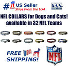 NFL Dog Collar - Heavy-Duty, Durable & Adjustable Football Collar for Dogs/ CATS $13.99 USD on eBay