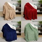 ULTRA SOFT ESSENTIAL SOLID COLOR BLANKETS!! MANY COLORS AND SIZES!! image