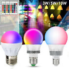 how to change spotlight bulb - E27 3/5/10W LED RGB Spot Light Bulb Lamp Color Changing+IR Remote Control  US