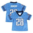 Chris Johnson Tennessee Titans NFL Team Home Light Blue Jersey Newborn Infant SZ $14.99 USD on eBay