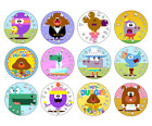24 / 30 / personalised- HEY DUGGEE CUPCAKE TOPPERS - RICE PAPER BIRTHDAY