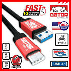 USB C Type C 3.1 Fast Charging Data Sync Charger Cable Samsung Galaxy Note 9 9