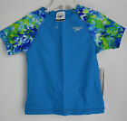 Speedo Little Girls Tie Dye Splash Rash Guard & Swim Bottom