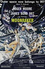 65439 Moonraker Movie Roger Moore, Lois Chiles FRAMED CANVAS PRINT AU $26.95 AUD on eBay