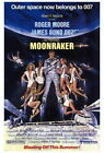 68727 Moonraker Movie Roger Moore, Lois Chiles FRAMED CANVAS PRINT AU $26.95 AUD on eBay