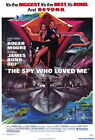 65545 The Spy Who Loved Me Movie Roger Moore FRAMED CANVAS PRINT Toile $45.62 CAD on eBay