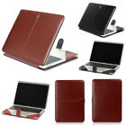 "PU Leather Laptop Book Back Case Cover for MacBook 12"" AIR PRO 11"" 13"" 15""Retina"