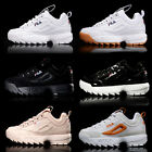 FILA Disruptor II 2 Trainers Sneakers Classic Shoes Womens Mens Unisex Fashion